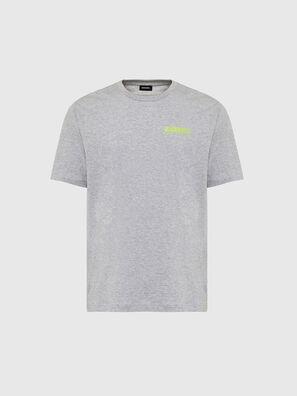 T-JUST-SLITS-X84, Grey - T-Shirts
