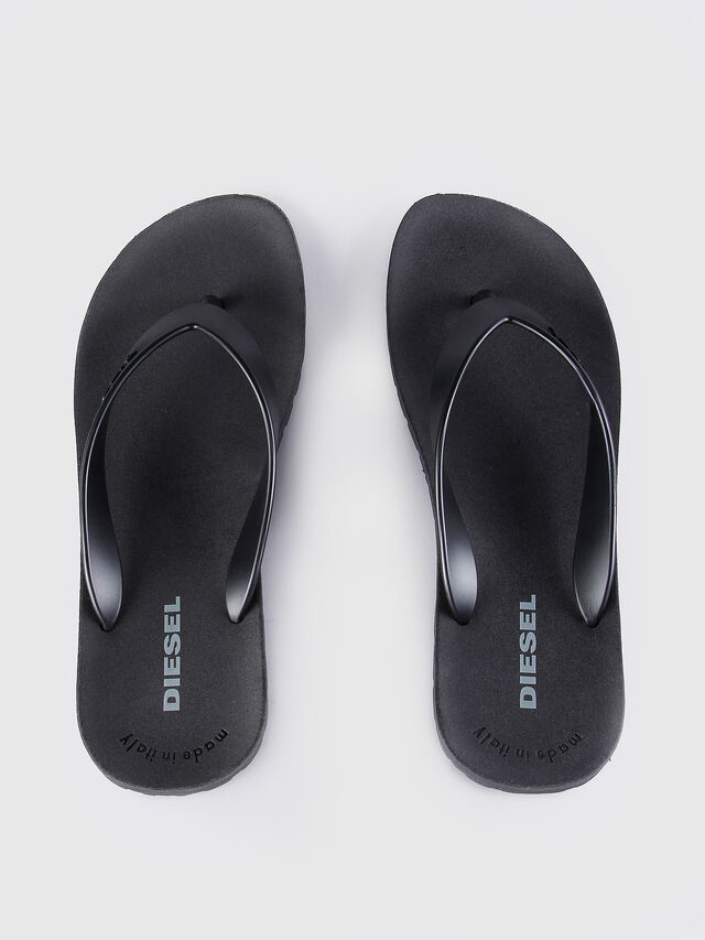 Diesel - SPLISH, Black - Slippers - Image 2