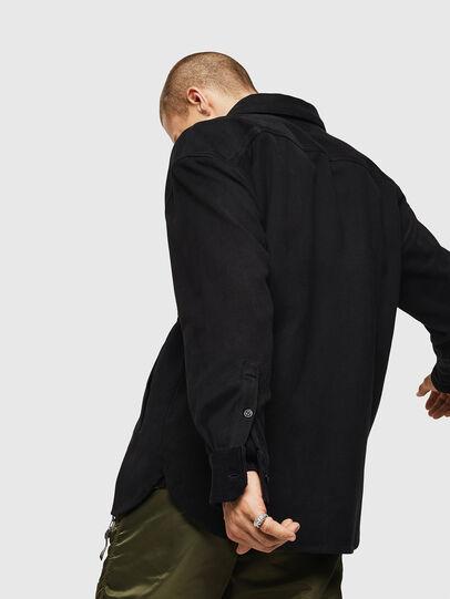 Diesel - S-LEBED, Black - Shirts - Image 5