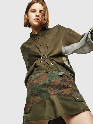 O-AMATA, Green Camouflage - Skirts