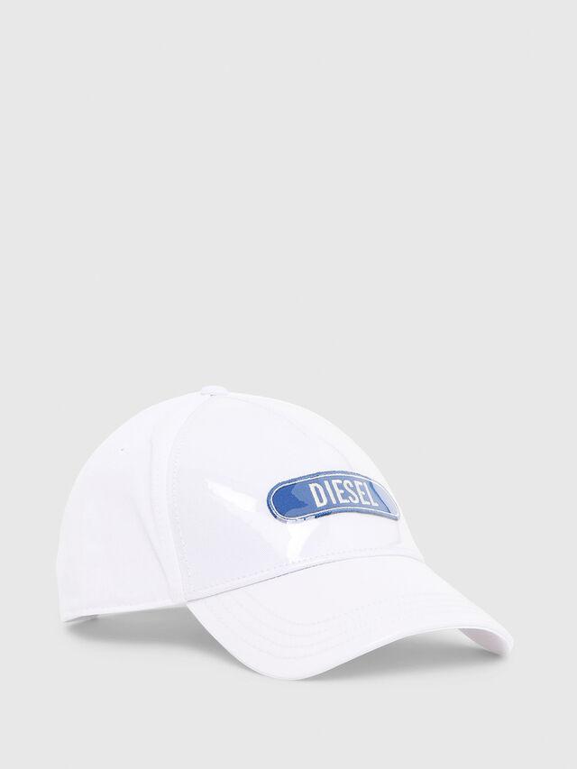 Diesel - C-TRASPY, White - Caps - Image 1