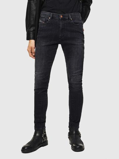 Diesel - D-Amny 0096P, Black/Dark grey - Jeans - Image 1