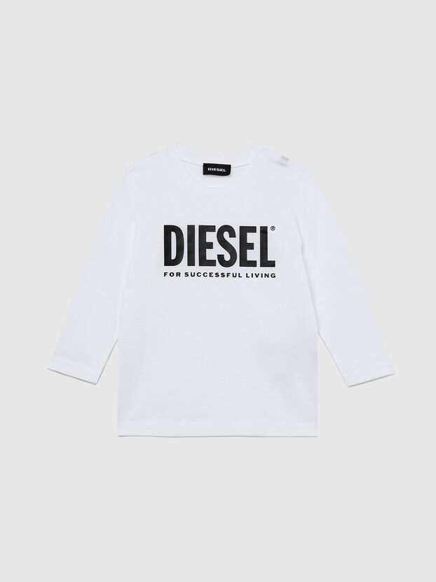TJUSTLOGOB ML-R, White - T-shirts and Tops
