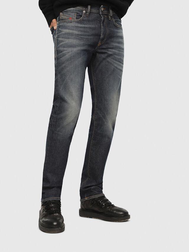 Diesel - Buster 084ZU, Dark Blue - Jeans - Image 1