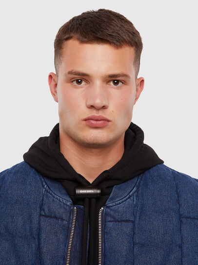 Diesel - D-WAIN, Medium blue - Denim Jackets - Image 3