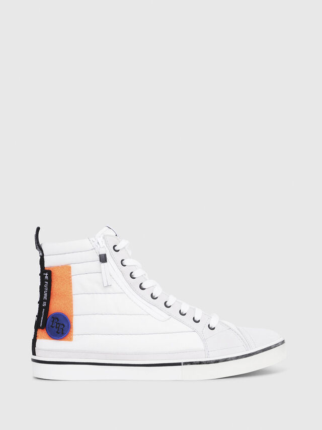 Diesel - D-VELOWS MID PATCH, Multicolor/White - Sneakers - Image 1