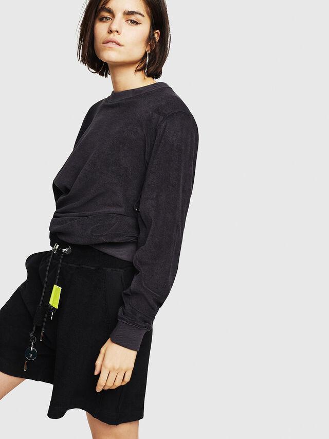 Diesel - F-LYANY-A, Black - Sweaters - Image 4