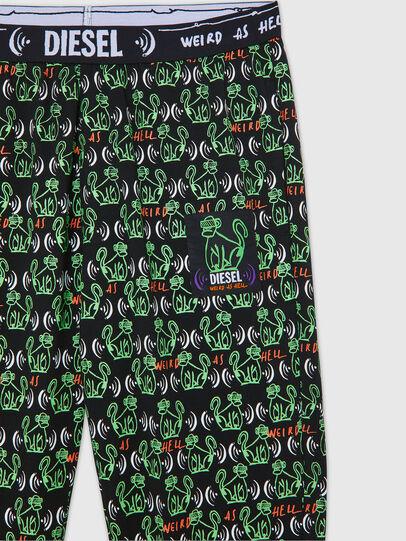 Diesel - UMLB-JULIO, Black/Green - Pants - Image 3