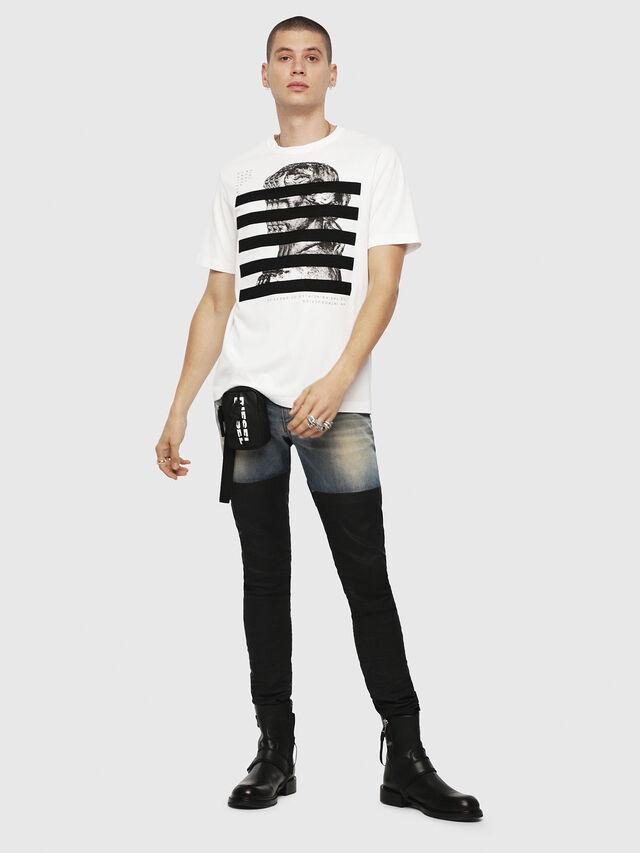 Diesel - T-JUST-YO, White - T-Shirts - Image 4
