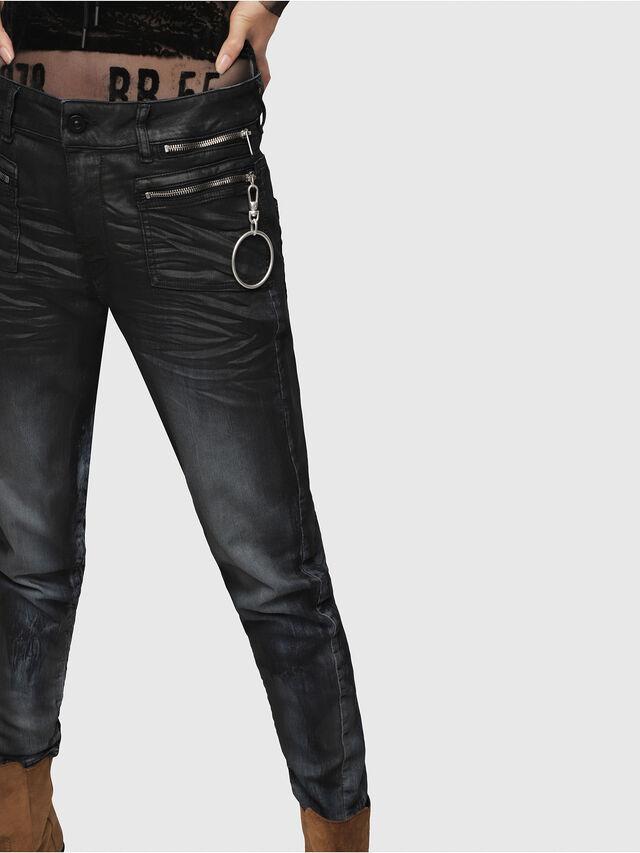 Diesel - D-Eifault JoggJeans 086AZ, Dark Blue - Jeans - Image 3