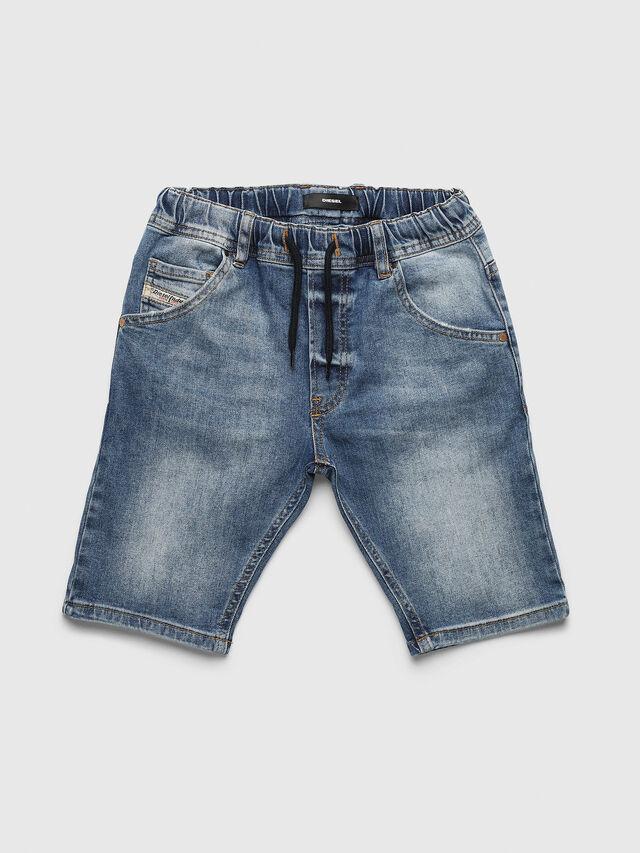 Diesel - PKROOLEYNE-CUT SH, Blue Jeans - Pants - Image 1