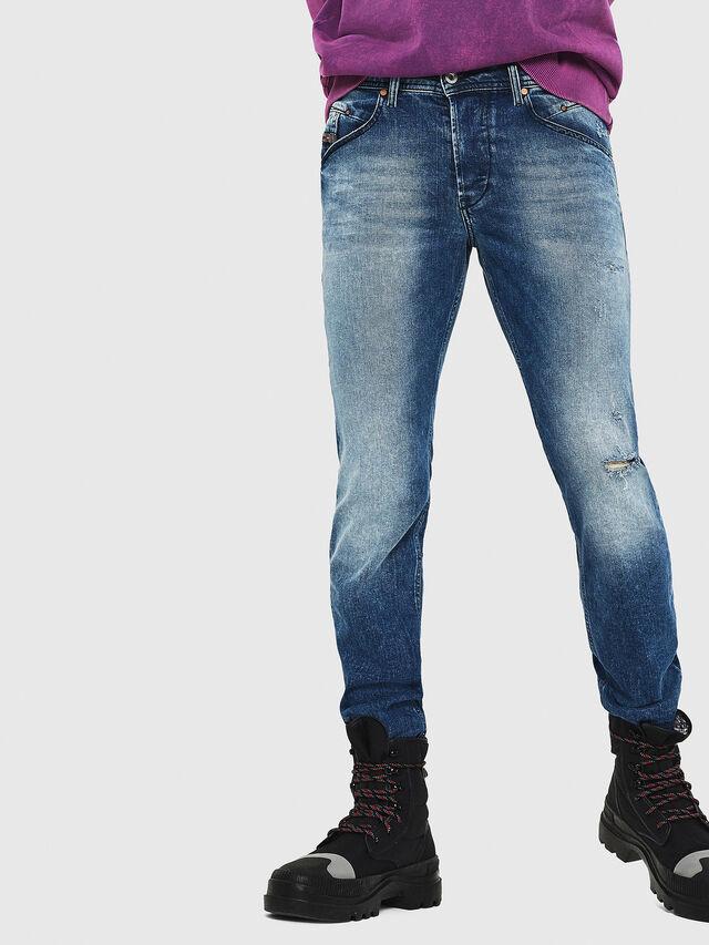 Diesel - Belther 081AQ, Medium blue - Jeans - Image 4