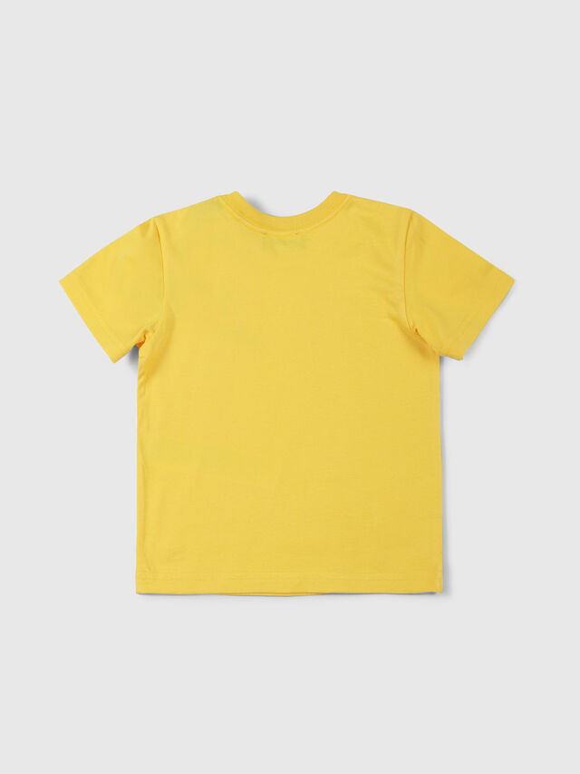 Diesel - TUCSEB, Yellow - T-shirts and Tops - Image 2