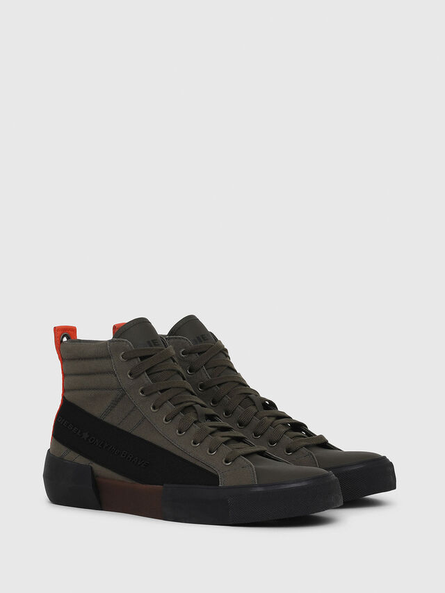 Diesel - S-DESE MC, Green/Black - Sneakers - Image 2