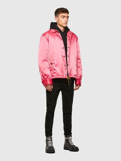 Diesel - J-FOOT, Pink - Jackets - Image 5