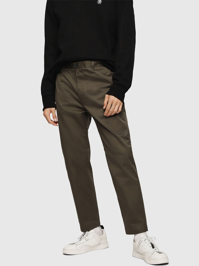 Diesel - P-MADOX, Military Green - Pants - Image 1