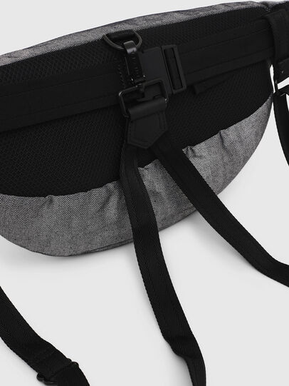 Diesel - TRIBELT, Gray/Black - Backpacks - Image 4