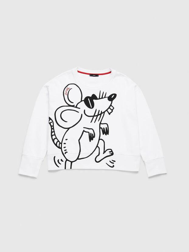 CL-F-MAGDA-BIGM, White - Sweaters
