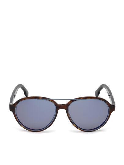 Diesel - DL0214, Brown - Sunglasses - Image 1