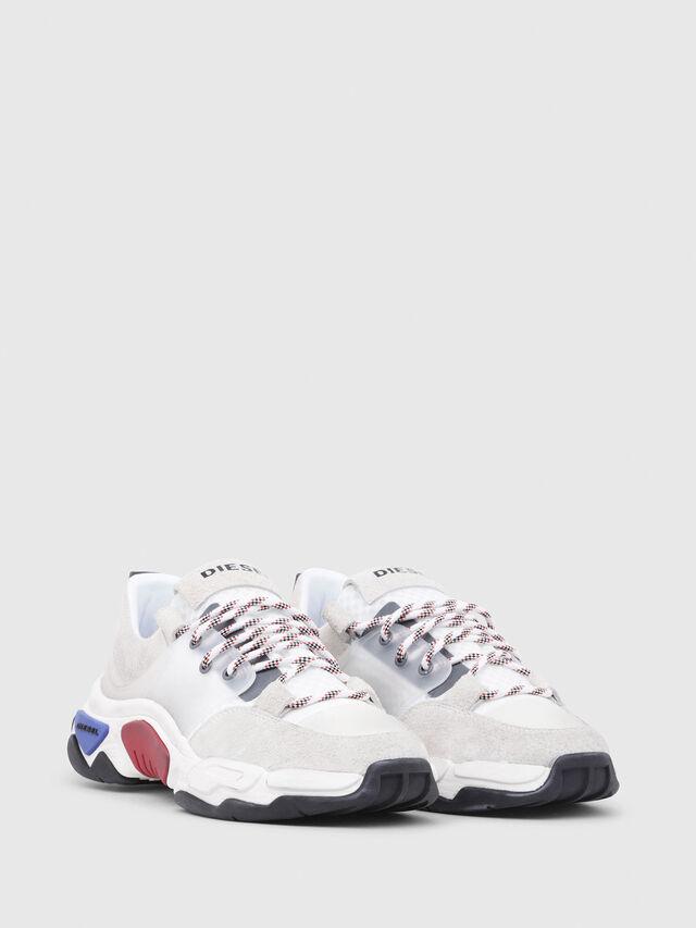 Diesel - S-KIPPER LOW LACE, White - Sneakers - Image 2