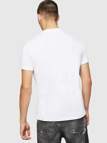 Diesel - T-DIEGO-BX2, White - T-Shirts - Image 2