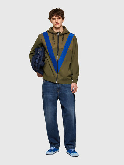 Diesel - K-ARSENIC, Olive Green - Knitwear - Image 5