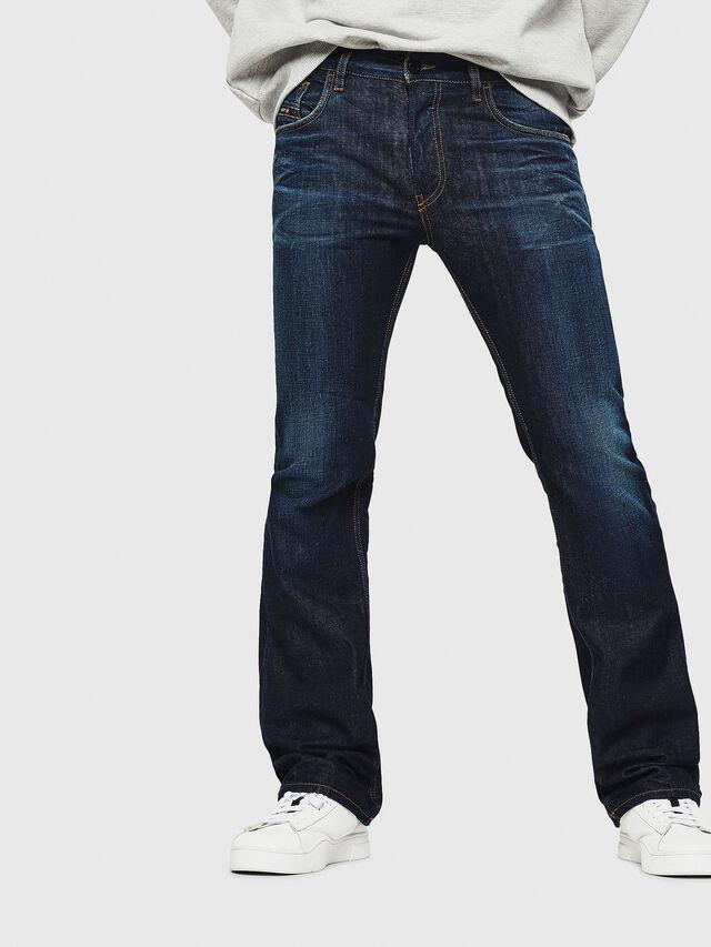 Diesel - D-Ligenz 088AN, Dark Blue - Jeans - Image 1