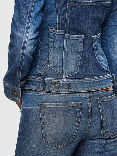 Diesel - DE-JYBRA, Medium blue - Denim Jackets - Image 5