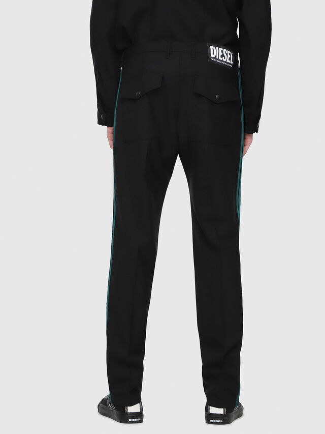 Diesel - P-ARK, Black/Green - Pants - Image 2