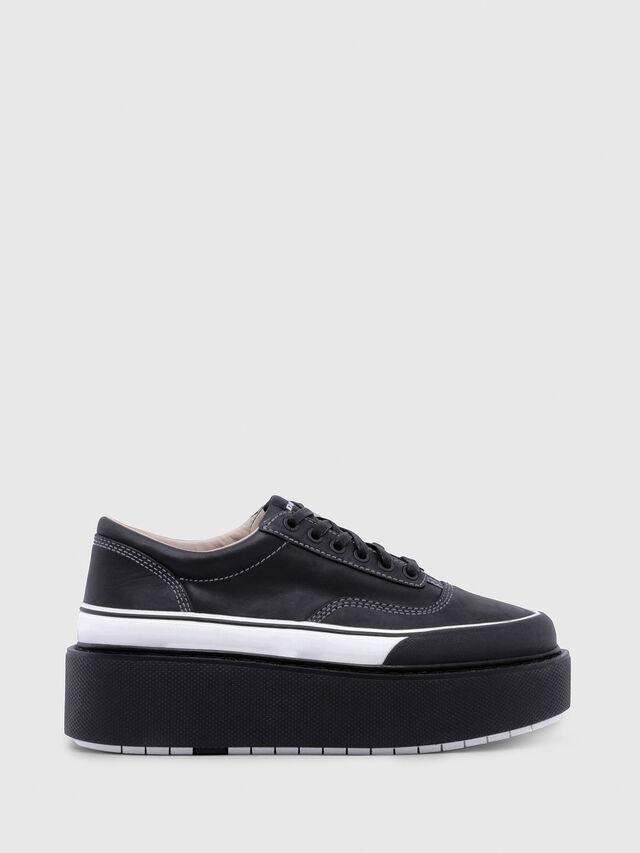 Diesel - H-SCIROCCO LOW, Black/White - Sneakers - Image 1