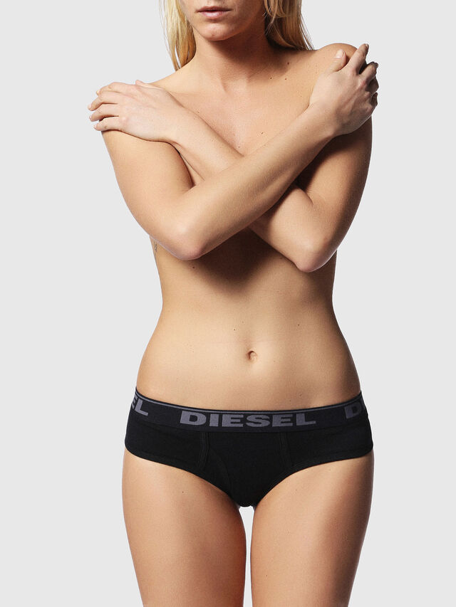 Diesel - UFPN-OXY-THREEPACK, Black/Grey - Panties - Image 2