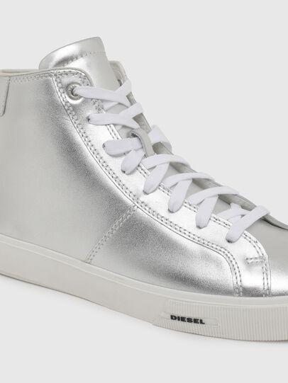 Diesel - S-MYDORI MC W, Silver - Sneakers - Image 4