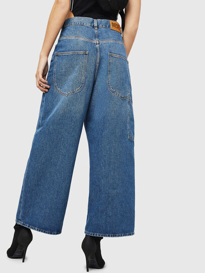 Diesel - D-Luite 080AN, Medium blue - Jeans - Image 2