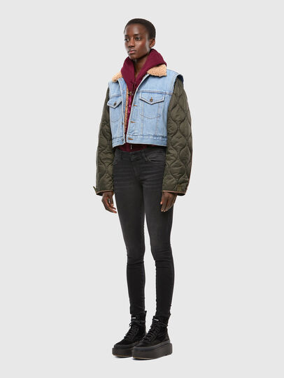 Diesel - W-SHAYL, Military Green - Winter Jackets - Image 7