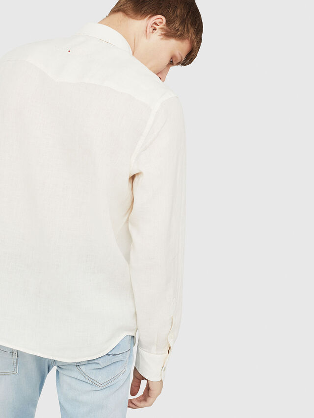 Diesel - S-PLAN-A, White - Shirts - Image 3