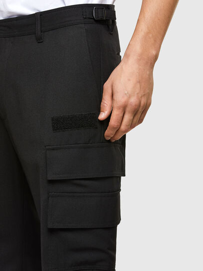 Diesel - P-HOMEN, Black - Pants - Image 3