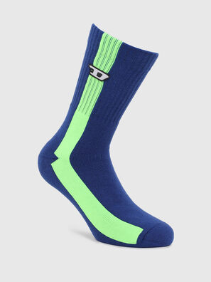 SKM-RAY, Blue/Green - Socks