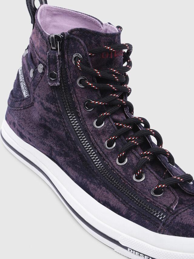 Diesel - EXPO-ZIP W, Dark Violet - Sneakers - Image 4