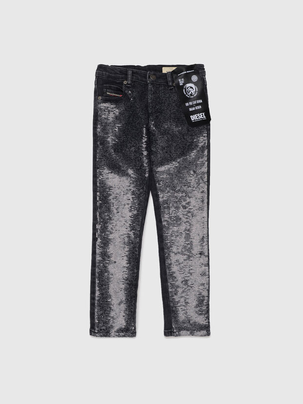BABHILA-J-SP1, Black - Jeans