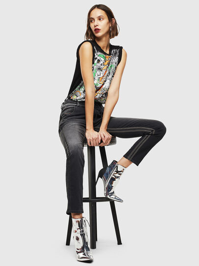 Diesel - Krailey JoggJeans 0094Q, Black/Dark grey - Jeans - Image 6