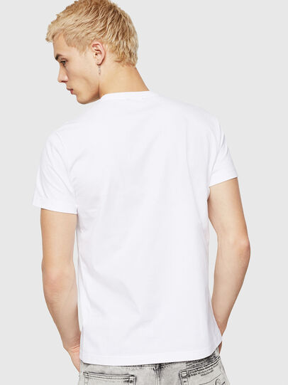 Diesel - T-DIEGO-A10, White - T-Shirts - Image 2