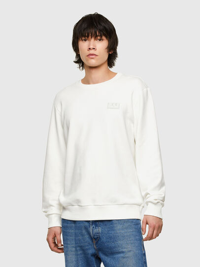 Diesel - S-GIRK-E1, White - Sweaters - Image 1