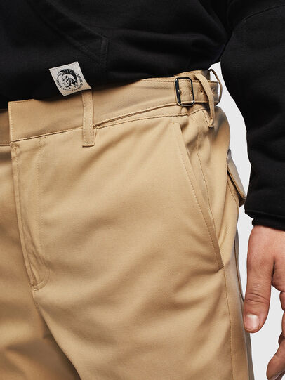 Diesel - P-CHARLIE, Light Brown - Pants - Image 3