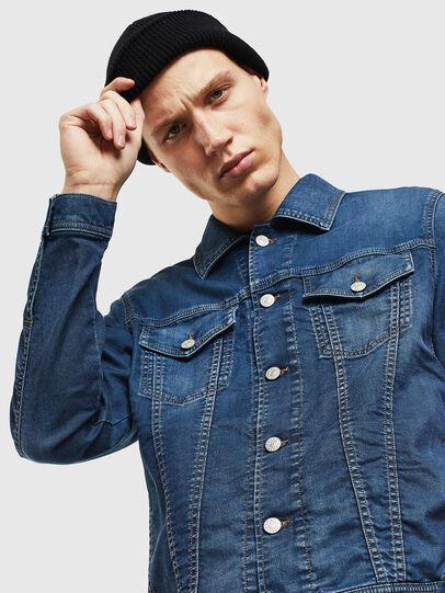Diesel - NHILL JOGGJEANS, Blue Jeans - Denim Jackets - Image 3