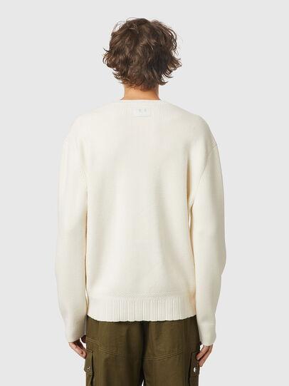 Diesel - K-ATHENS, White - Knitwear - Image 2