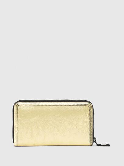 Diesel - GRANATO LC, Gold/Black - Zip-Round Wallets - Image 2