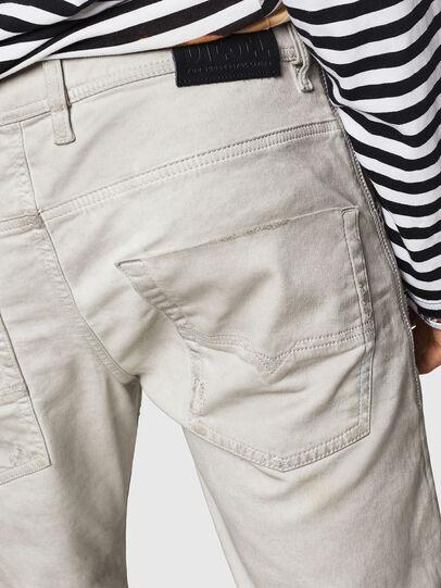 Diesel - Krooley JoggJeans 069GT, Light Grey - Jeans - Image 6