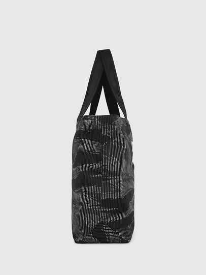 Diesel - D-THISBAG SHOP M, Black - Shopping and Shoulder Bags - Image 3