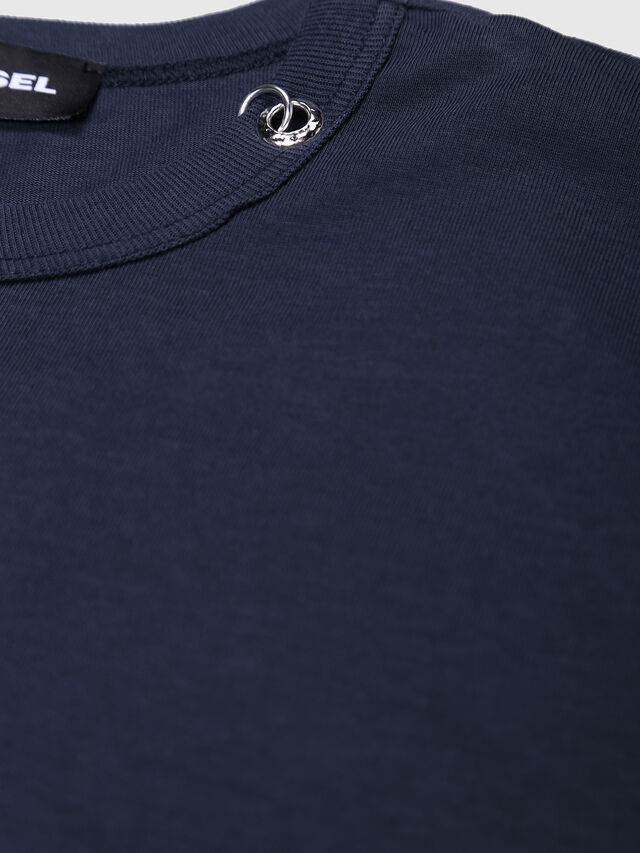 Diesel - TOCLE, Dark Blue - T-shirts and Tops - Image 3