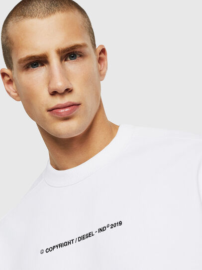 Diesel - S-MAGGY-SH-COPY, White - Sweaters - Image 3